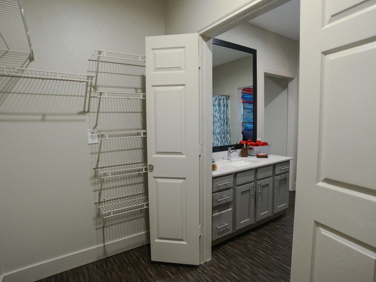 Large Closets  at Ellie Apartments, Austin, Texas