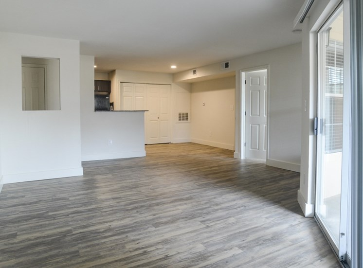Faux Wood Flooring Throughout at Ellie Apartments, Austin, TX