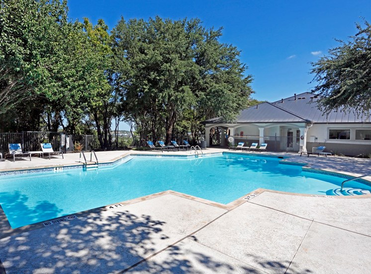 Resort-Style Pool at Ellie Apartments, Austin, 78741