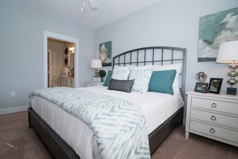 King Size Bedroom at Meridian at Fairfield Park, Wilmington, NC