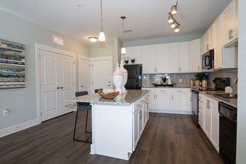 Fully Equipped Eat-In Kitchen at Meridian at Fairfield Park, Wilmington