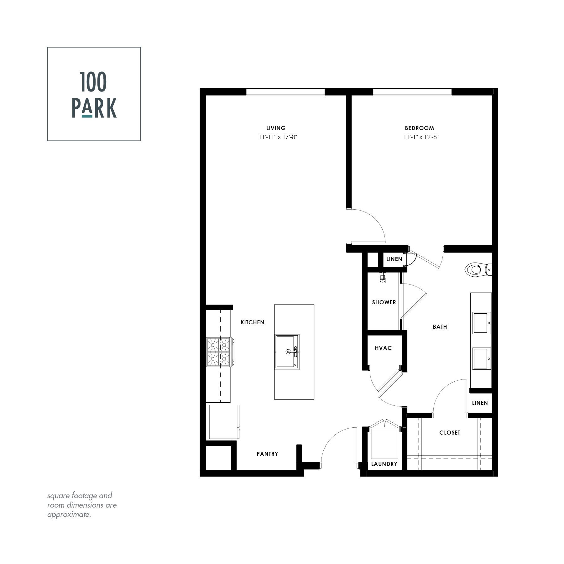 floor plans of 100 park in college station tx