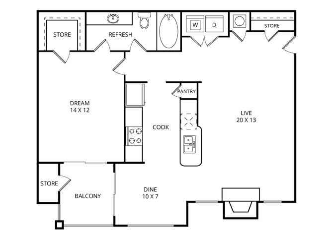 The Creekview Floor Plan 2