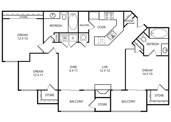 The Cove Floor Plan 5
