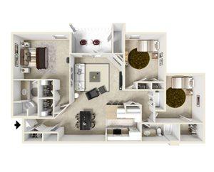 Three Bedroom B