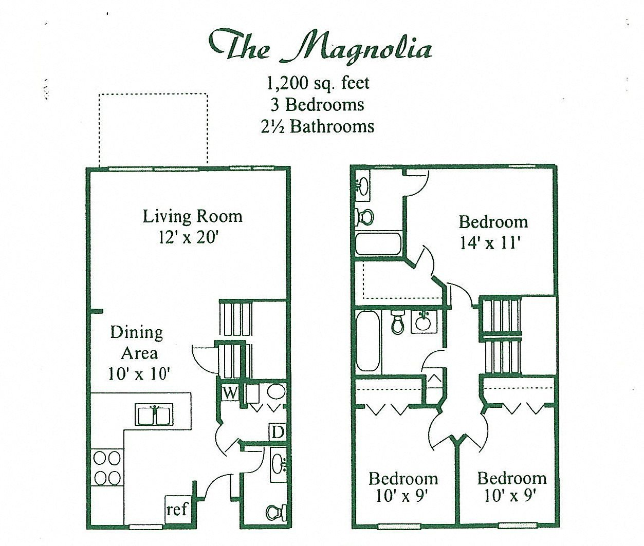 The Magnolia - UPGRADE Floor Plan 3