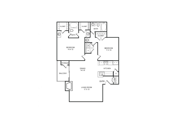 Belleview Floor Plan 8