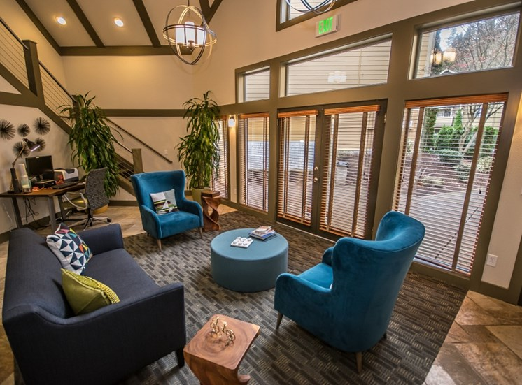 Lavish resident clubhouse at Arnada Pointe, WA
