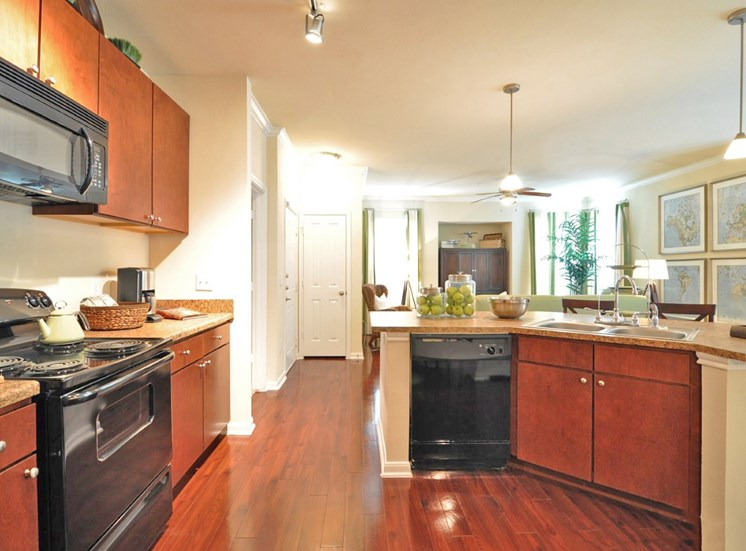 Beacon Lakes Apartments provides Spacious Kitchen with Pantry Cabinet