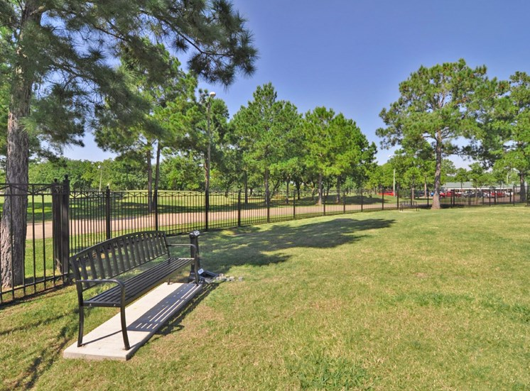 Pet Friendly Community With Bark Park at Beacon Lakes Apartments, TX