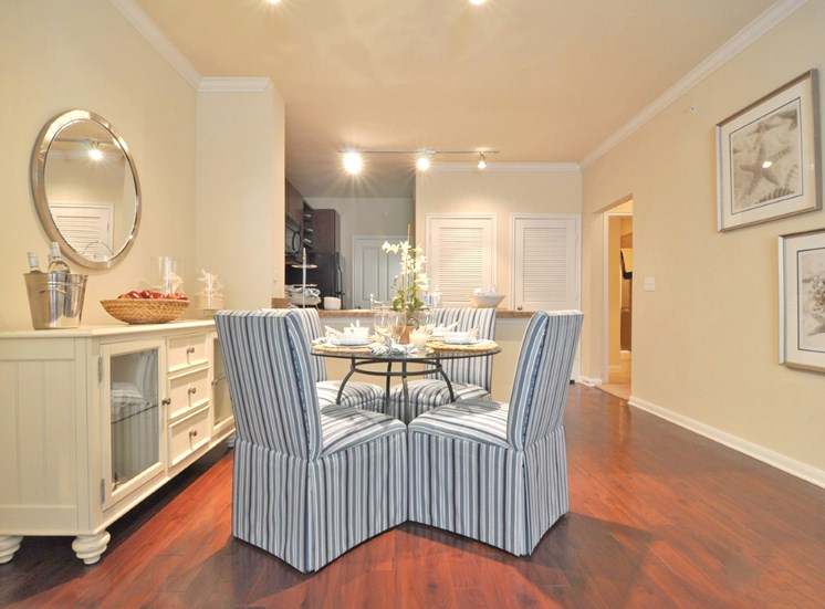 Beacon Lakes Apartments has Separate Dining Area And Wood Finished Flooring
