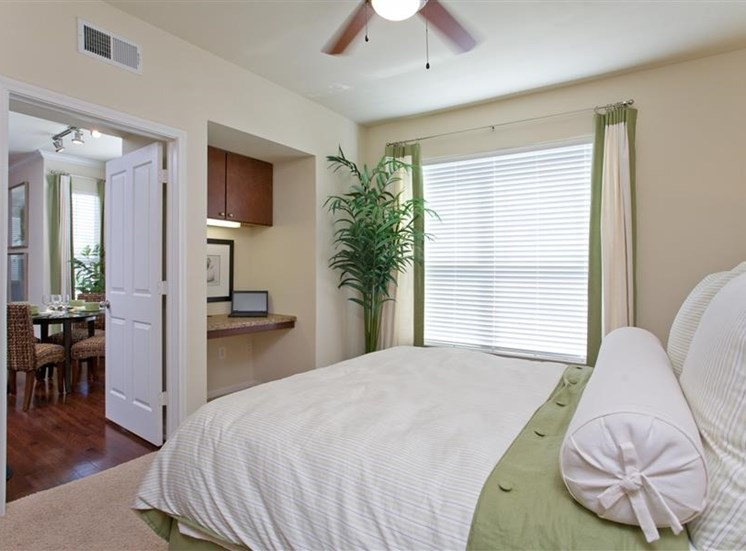spacious bedrooms with en suite bathrooms.