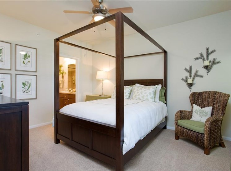Spacious Bedrooms With Modern Amenities
