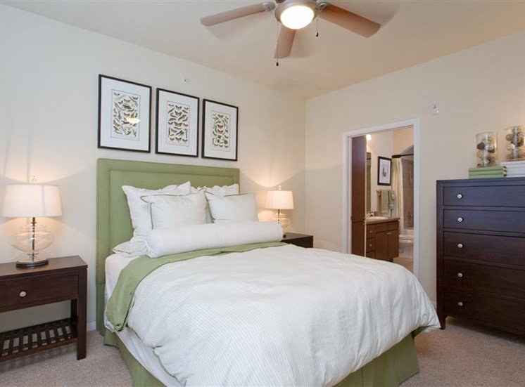 Designer Carpeting in Bedrooms at Beacon Lakes Apartments