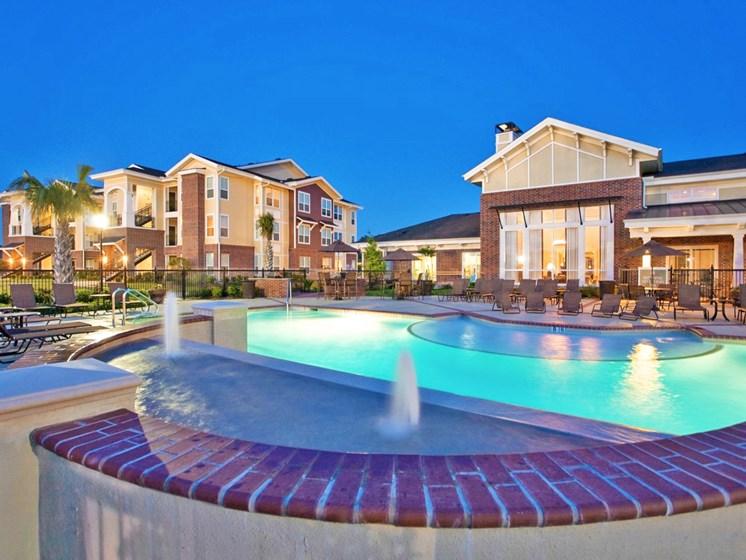 Resort-Style Zero-Entry Poolat Beacon Lakes Apartments,77539