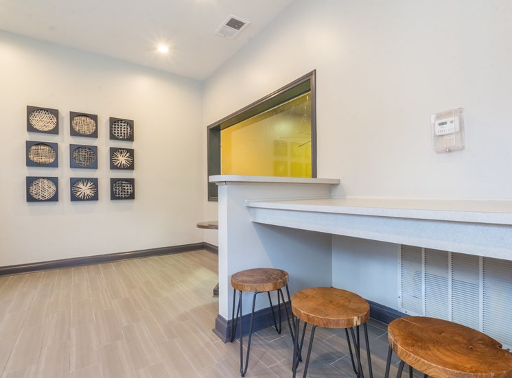Coffee Bar and Hospitality Station at Briarcliff Apartments, 7000 Briarcliff Gables Circle Ne