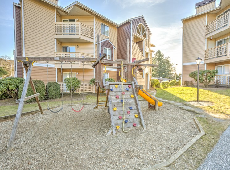 Children's Playground at Cascadia Pointe, Everett, WA,98204
