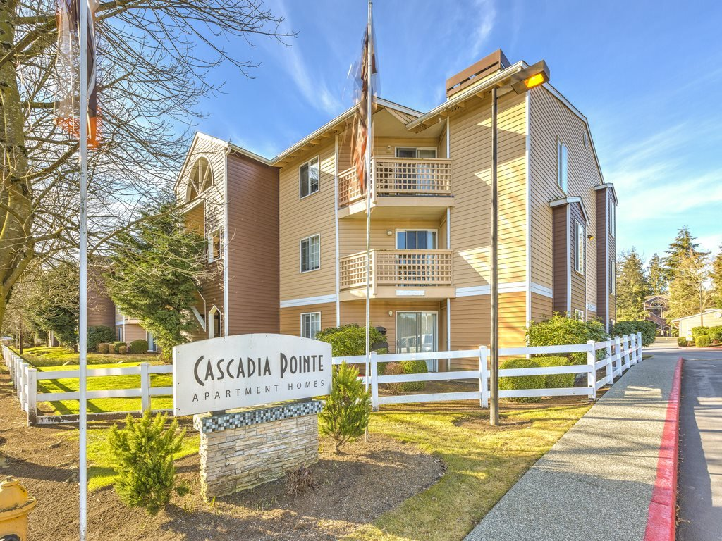 Renovated Apartment Homes Available for rent at Cascadia Pointe, Everett