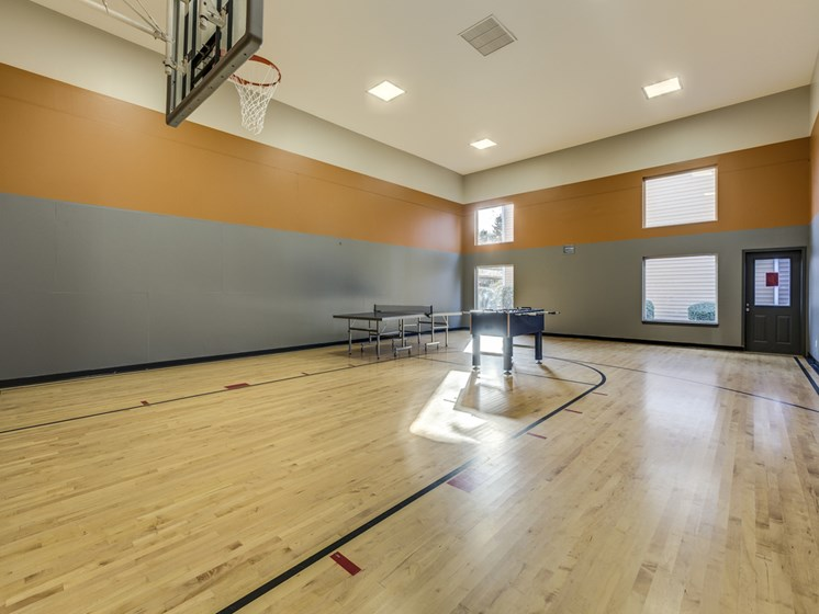 Indoor Basketball Court at Cascadia Pointe, Everett, 98204