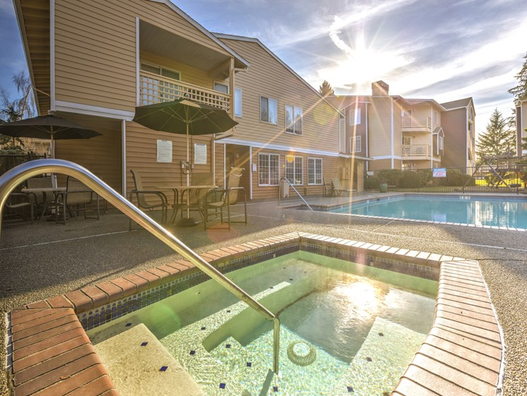 Heated Spa/Hot Tub at Cascadia Pointe, Everett, 98204
