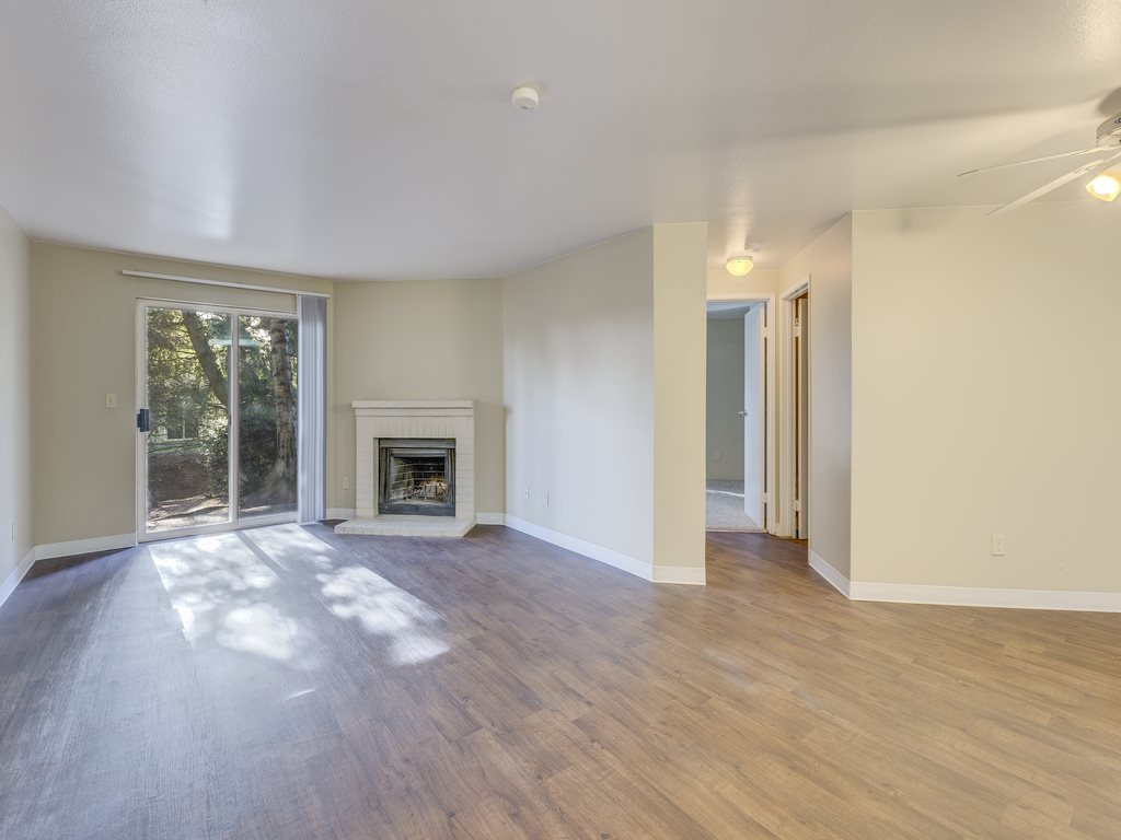 Living Rooms Attached With Over sized Windows at Cascadia Pointe, Everett, WA,98204