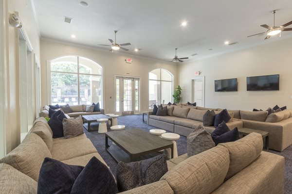 Newly Renovated Clubhouse at Deerfield Village Apartments, 13085 Morris Rd, GA