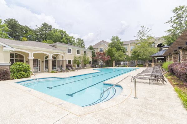 Two Resort- Style Swimming Pools at Deerfield Village Apartments, GA 30004