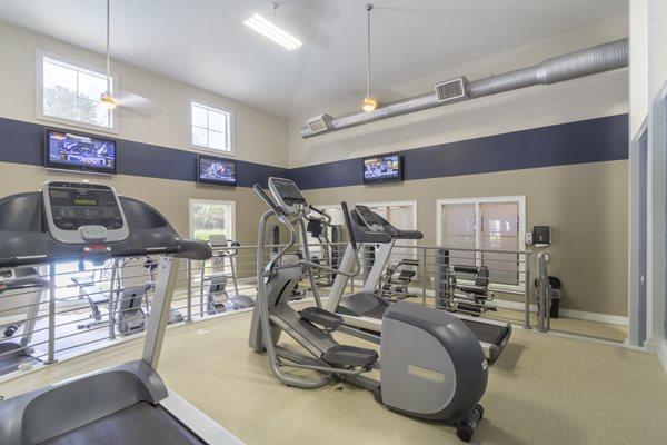 Health and Fitness Center at Deerfield Village Apartments, Alpharetta, GA