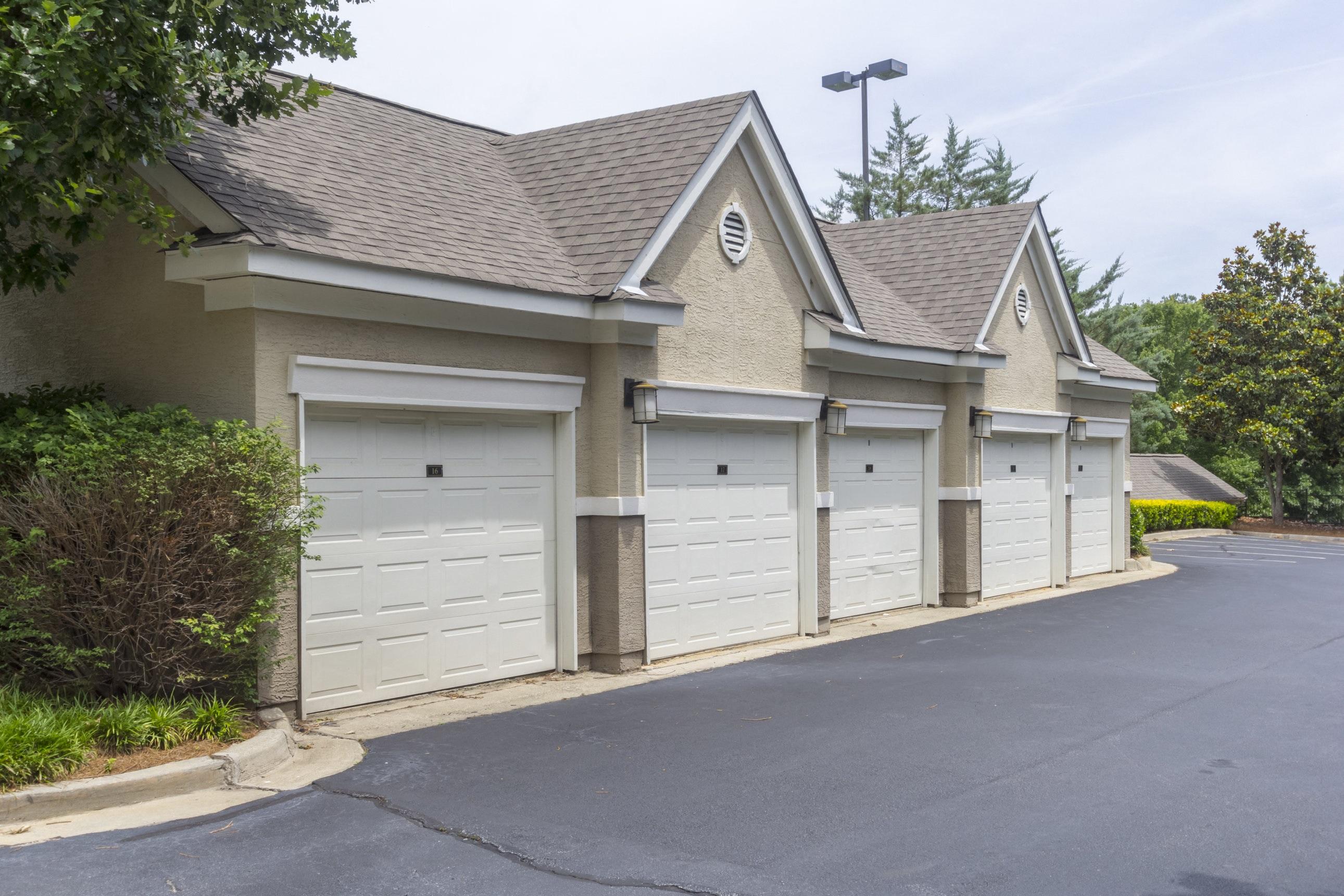 Garage Storage At Deerfield Village Apartments, 13085 Morris Rd, Alpharetta