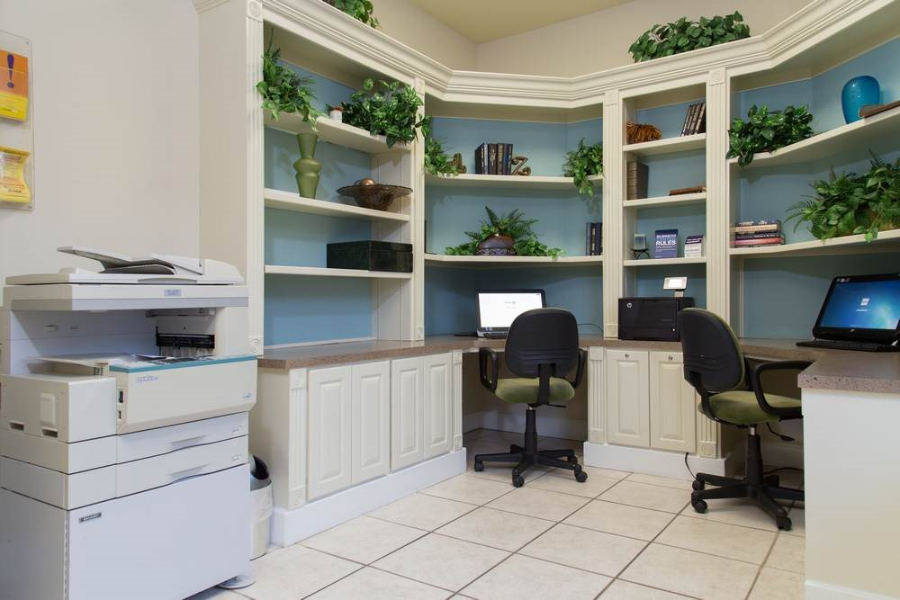 Business Center With High Speed Internet Available at Estate on Quarry Lake Apartments, Austin, TX,78759