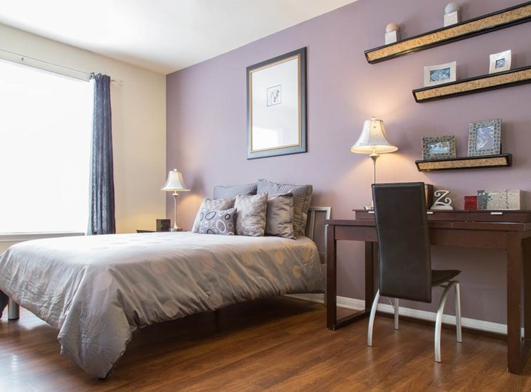at Estate on Quarry Lake Apartments, has Live in cozy bedrooms