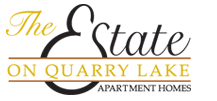 at Estate on Quarry Lake Apartments Logo, Austin