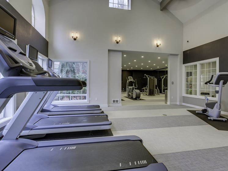 Modern Treadmills at Fulton's Crossing