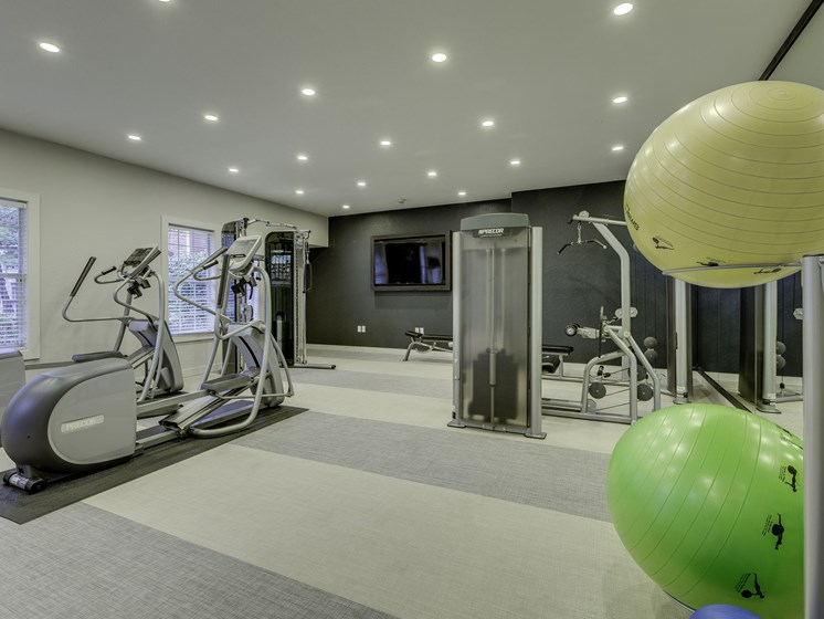 Spacious Fitness Center