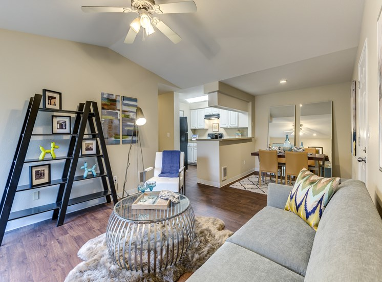 Fully Furnished Apartments at Fulton's Crossing Apartments,120 SE Everett Mall Way, WA 98208