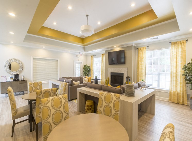 Spacious Clubhouse at Gwinnett Pointe Apartments