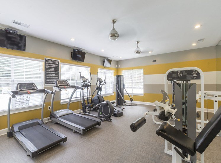 Fitness Center with updated equipment