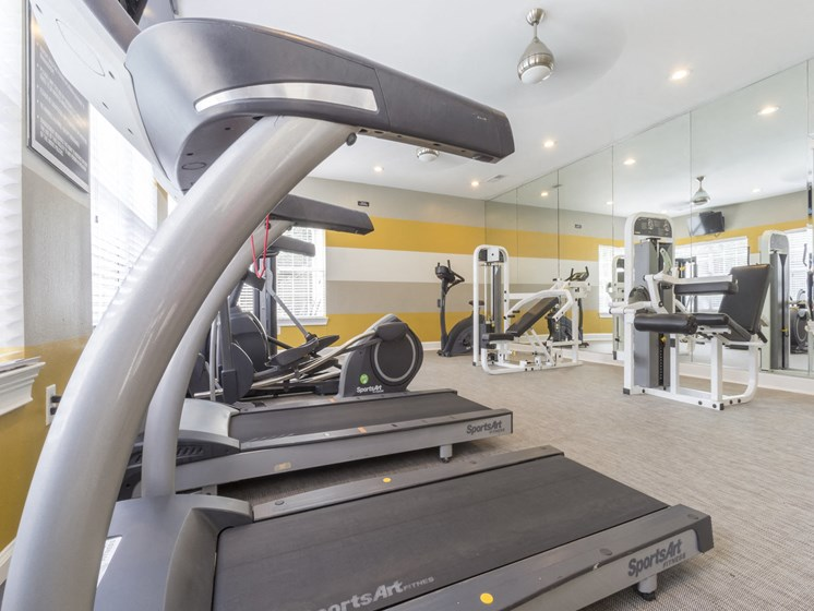 Cardio Center with professional equipment