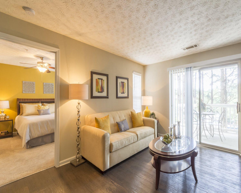 Hardwood flooring, apartment interiors