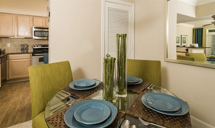 Kirby Place Apartments, Houston, TX,77030 has Separate Dining Area