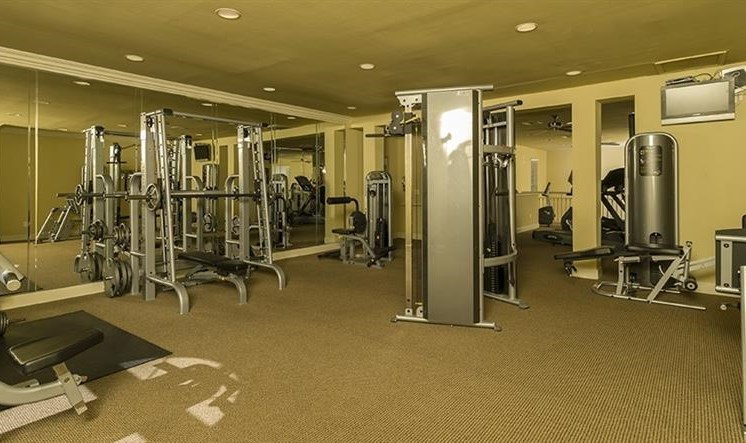 Expansive Fitness Center at Kirby Place Apartments, Texas, 77030