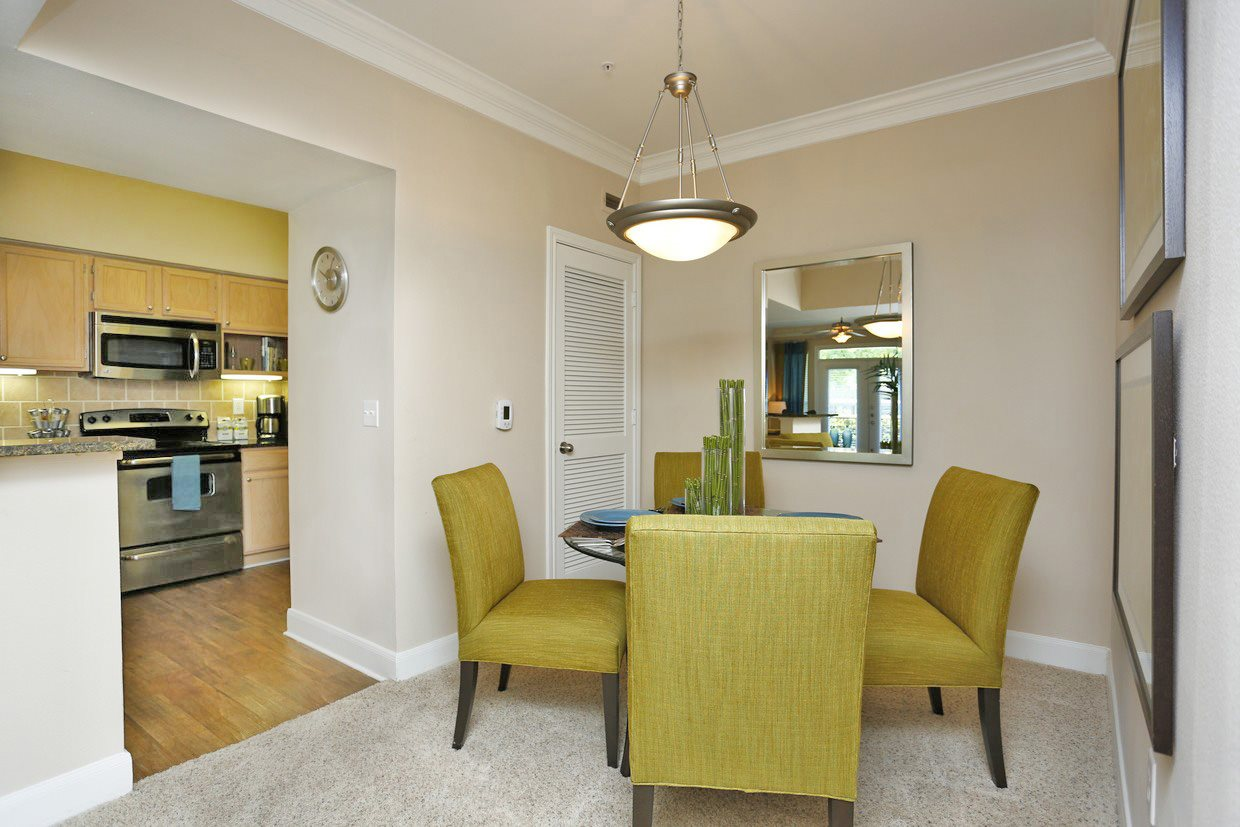 Separate Dining Area at Kirby Place Apartments, Houston,
