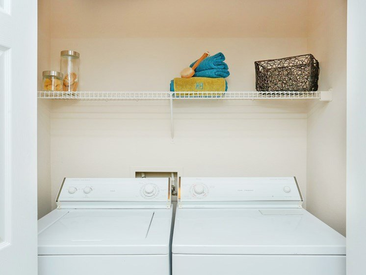 Full-sized Washer and Dryer Included