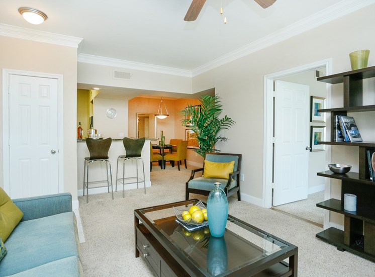 Open Floor Plans at Kirby Place Apartments, 77030