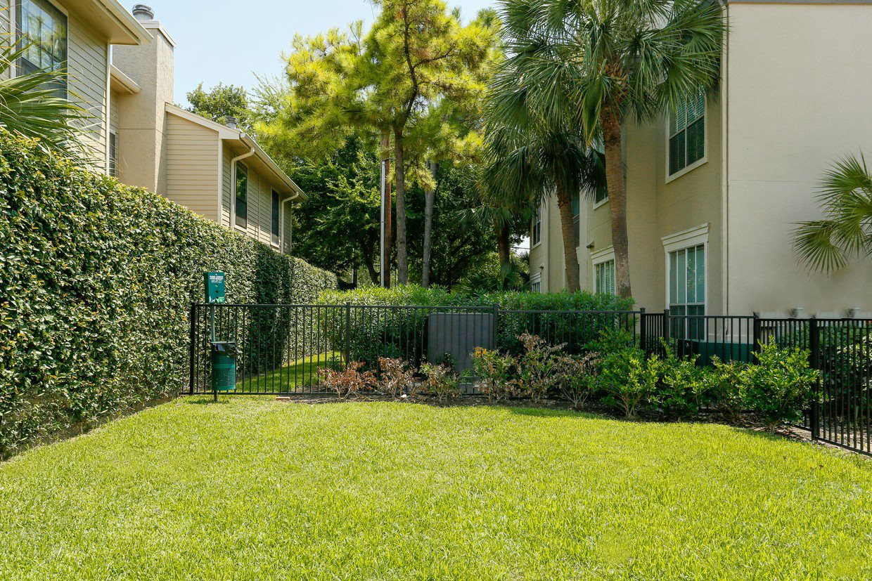 Beautifully Landscaped Grounds  at Kirby Place Apartments, TX,