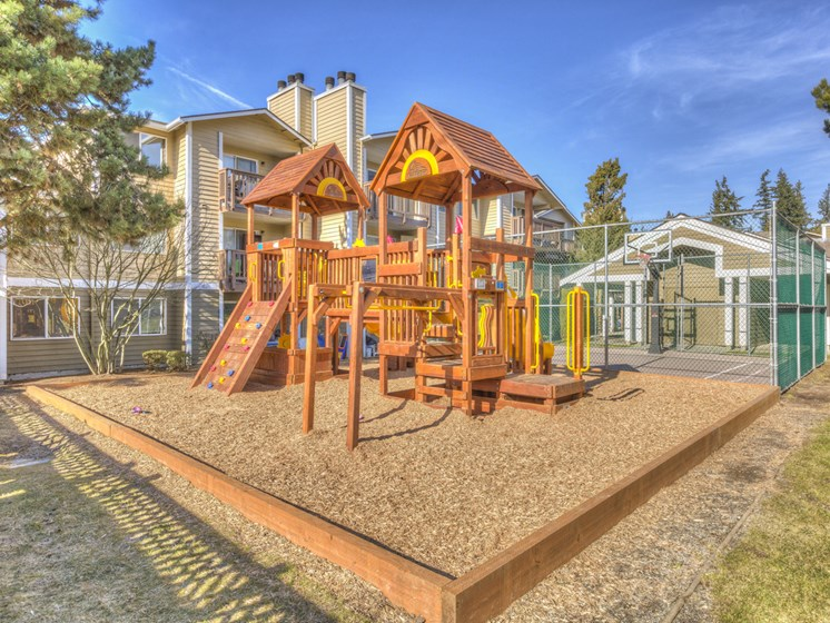 Children's PlayGround at Mirabella Apartments, 805 112th St SE, Everett, WA 98208
