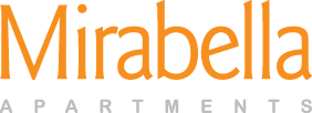 Mirabella apartments in Everett, Washington | Logo