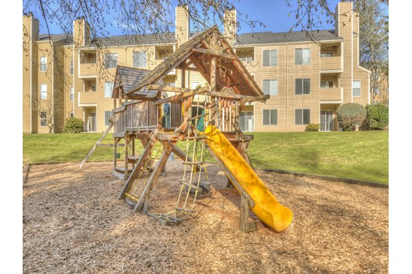Children's Playground With Tot Lot at Nickel Creek Apartments, 3702 204th St SW, Lynnwood, 98036