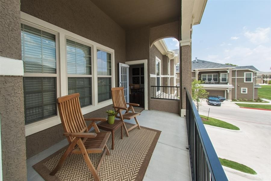 Private Patios or Balcony at Parc Woodland,