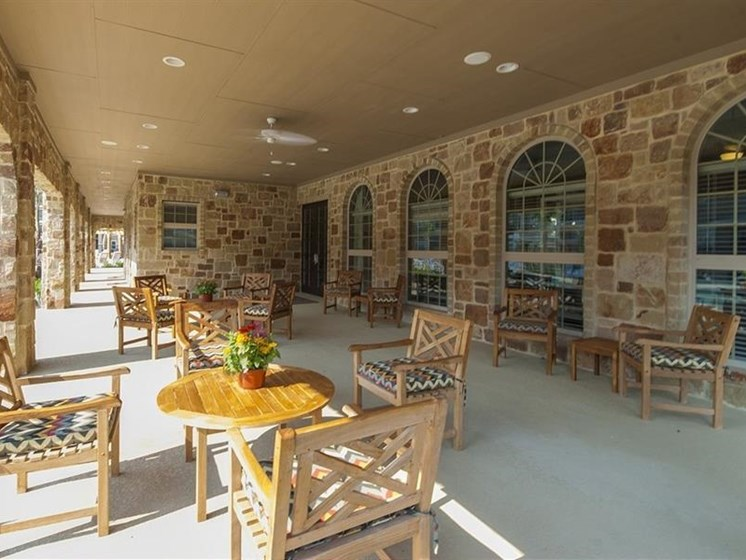 Exterior Pavilion with Kitchen at Parc Woodland, Conroe, TX,